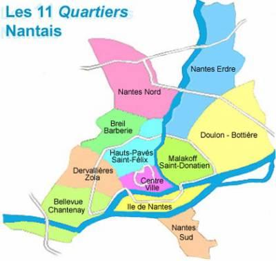 Nantes s 11 quartier loire atlantique - Quartier petit port nantes ...