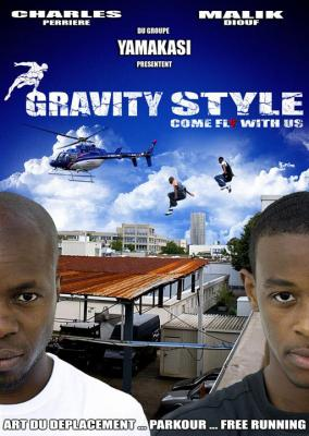 Gravity Style - Come fly with us affiche