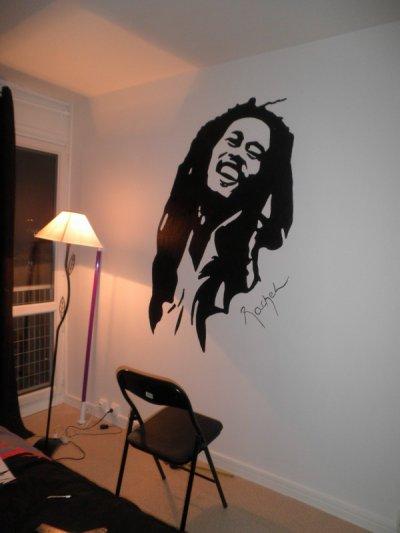 dinguerie sur le mur de ma chambre les dessins de rachel. Black Bedroom Furniture Sets. Home Design Ideas